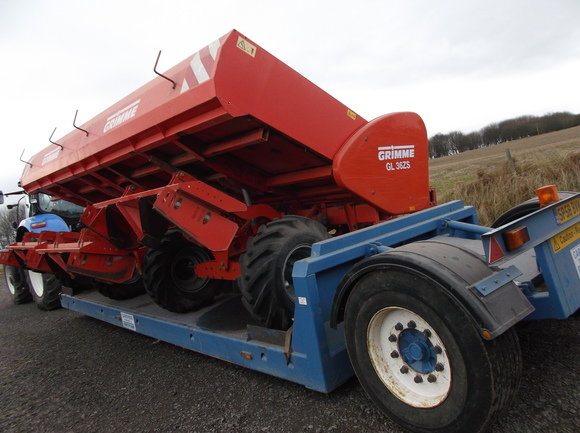 Grimme GL36ZS 6 ROW Planter