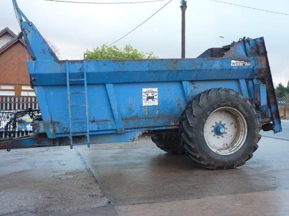 Richard Western 10 TON Muck Spreader